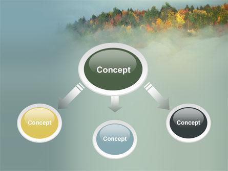 Autumn Mountain View PowerPoint Template, Slide 4, 06237, Nature & Environment — PoweredTemplate.com