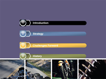 Cross-country Bike PowerPoint Template Slide 3