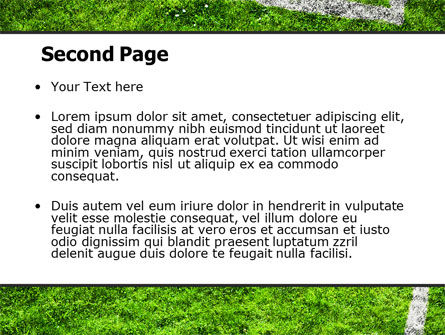 Soccer Playground PowerPoint Template Slide 2