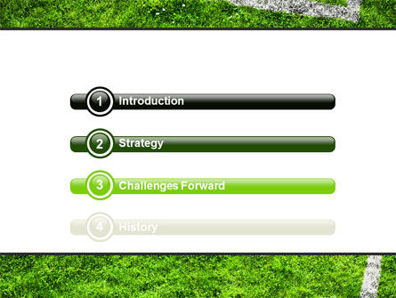 Soccer Playground PowerPoint Template Slide 3