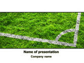 Sports: Soccer Playground PowerPoint Template #06242