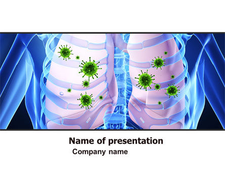 Pulmonology PowerPoint Template, 06243, Medical — PoweredTemplate.com