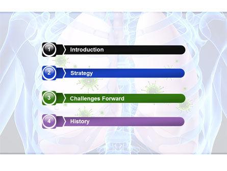 Pulmonology PowerPoint Template, Slide 3, 06243, Medical — PoweredTemplate.com