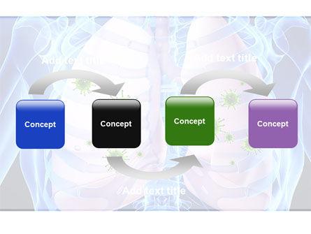 Pulmonology PowerPoint Template, Slide 4, 06243, Medical — PoweredTemplate.com