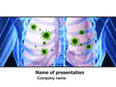 Medical: Pulmonology PowerPoint Template #06243