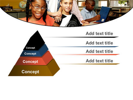 Back-To-School PowerPoint Template, Slide 4, 06244, Education & Training — PoweredTemplate.com