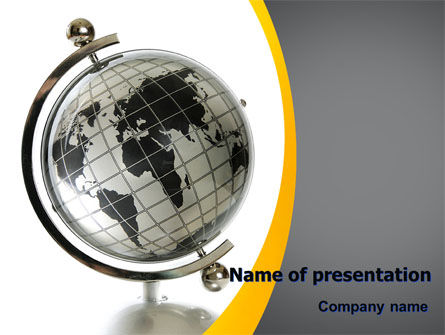 Geography PowerPoint Template, 06246, Global — PoweredTemplate.com
