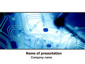Technology and Science: Contour PowerPoint Template #06247