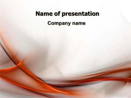 Abstract Veil PowerPoint Template