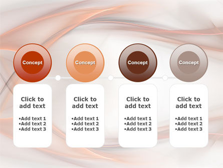 Abstract Veil PowerPoint Template Slide 5