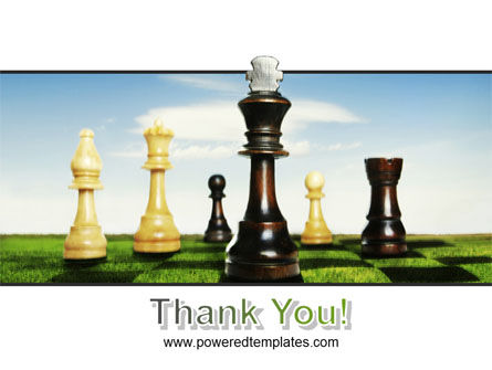 Chess King PowerPoint Template Slide 20