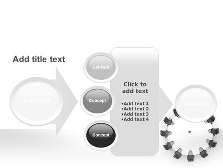 Round Table PowerPoint Template Slide 17