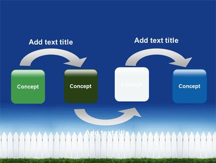 Wooden Fence PowerPoint Template, Slide 4, 06252, Construction — PoweredTemplate.com