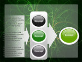 Green Abstract Lines PowerPoint Template#11