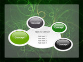 Green Abstract Lines PowerPoint Template#16