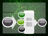 Green Abstract Lines PowerPoint Template#17
