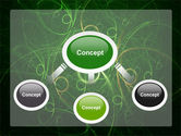 Green Abstract Lines PowerPoint Template#4