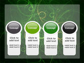 Green Abstract Lines PowerPoint Template#5