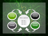 Green Abstract Lines PowerPoint Template#6