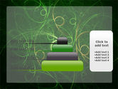Green Abstract Lines PowerPoint Template#8