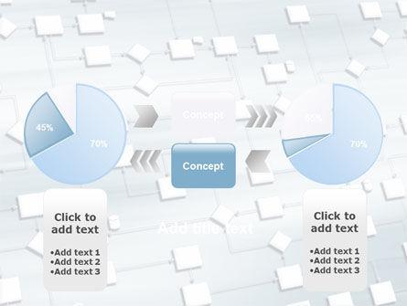 logic diagram powerpoint template backgrounds 06254. Black Bedroom Furniture Sets. Home Design Ideas