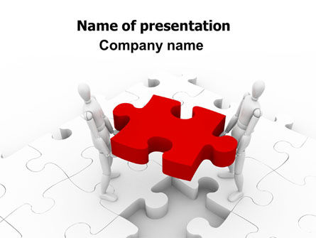 Handling PowerPoint Template, 06255, Consulting — PoweredTemplate.com