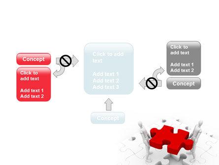 Handling PowerPoint Template Slide 13
