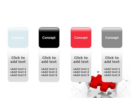 Handling PowerPoint Template Slide 5