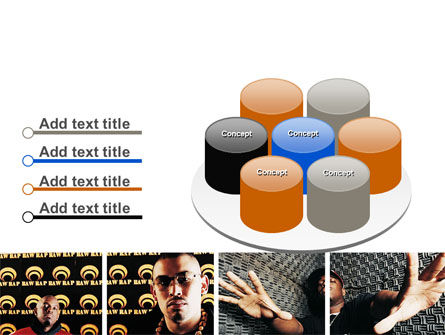 Rappers PowerPoint Template Slide 12