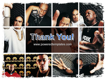 Rappers PowerPoint Template Slide 20