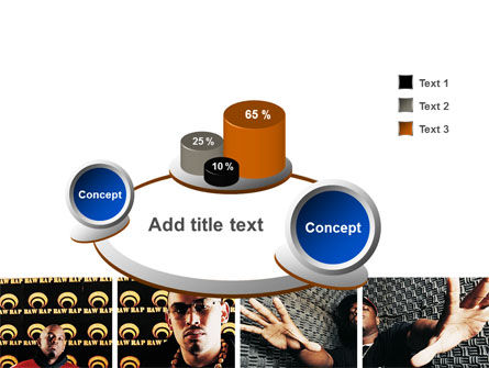 Rappers PowerPoint Template Slide 6