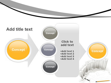 Building Draft PowerPoint Template Slide 17