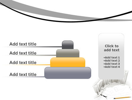 Building Draft PowerPoint Template Slide 8