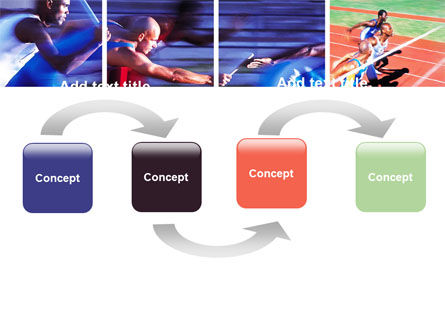 Athlete PowerPoint Template, Slide 4, 06260, Sports — PoweredTemplate.com