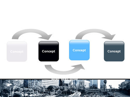 City Highway PowerPoint Template, Slide 4, 06261, Cars and Transportation — PoweredTemplate.com
