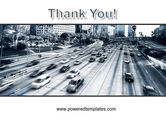 City Highway PowerPoint Template#20