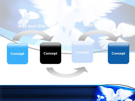 Flying Doves PowerPoint Template Slide 4