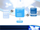 Flying Doves PowerPoint Template#13