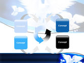 Flying Doves PowerPoint Template#6