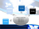 Flying Doves PowerPoint Template#7