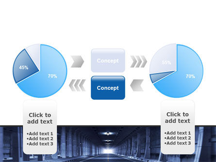 Underground Tunnel PowerPoint Template Slide 11