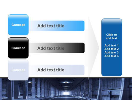 Underground Tunnel PowerPoint Template Slide 12