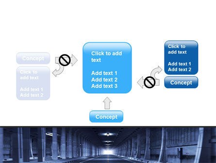 Underground Tunnel PowerPoint Template Slide 13