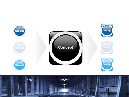 Underground Tunnel PowerPoint Template Slide 17