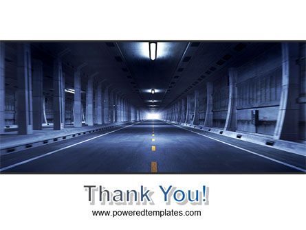 Underground Tunnel PowerPoint Template Slide 20