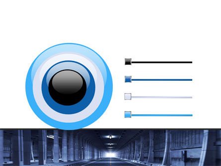 Underground Tunnel PowerPoint Template Slide 9
