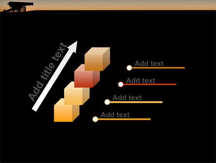 Alamo Sunset PowerPoint Template Slide 14
