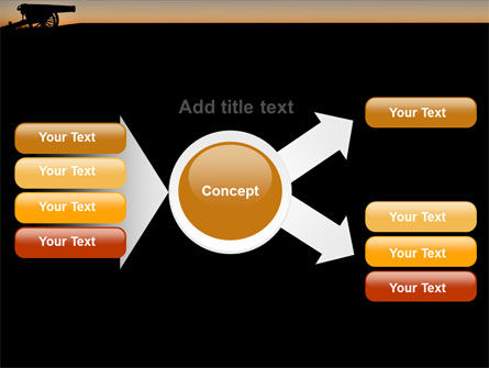 Alamo Sunset PowerPoint Template Slide 15
