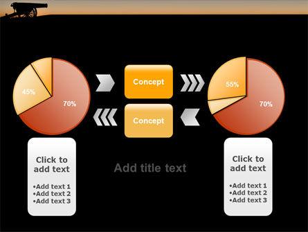 Alamo Sunset PowerPoint Template Slide 16