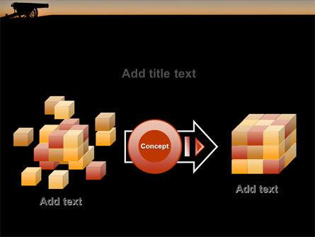 Alamo Sunset PowerPoint Template Slide 17